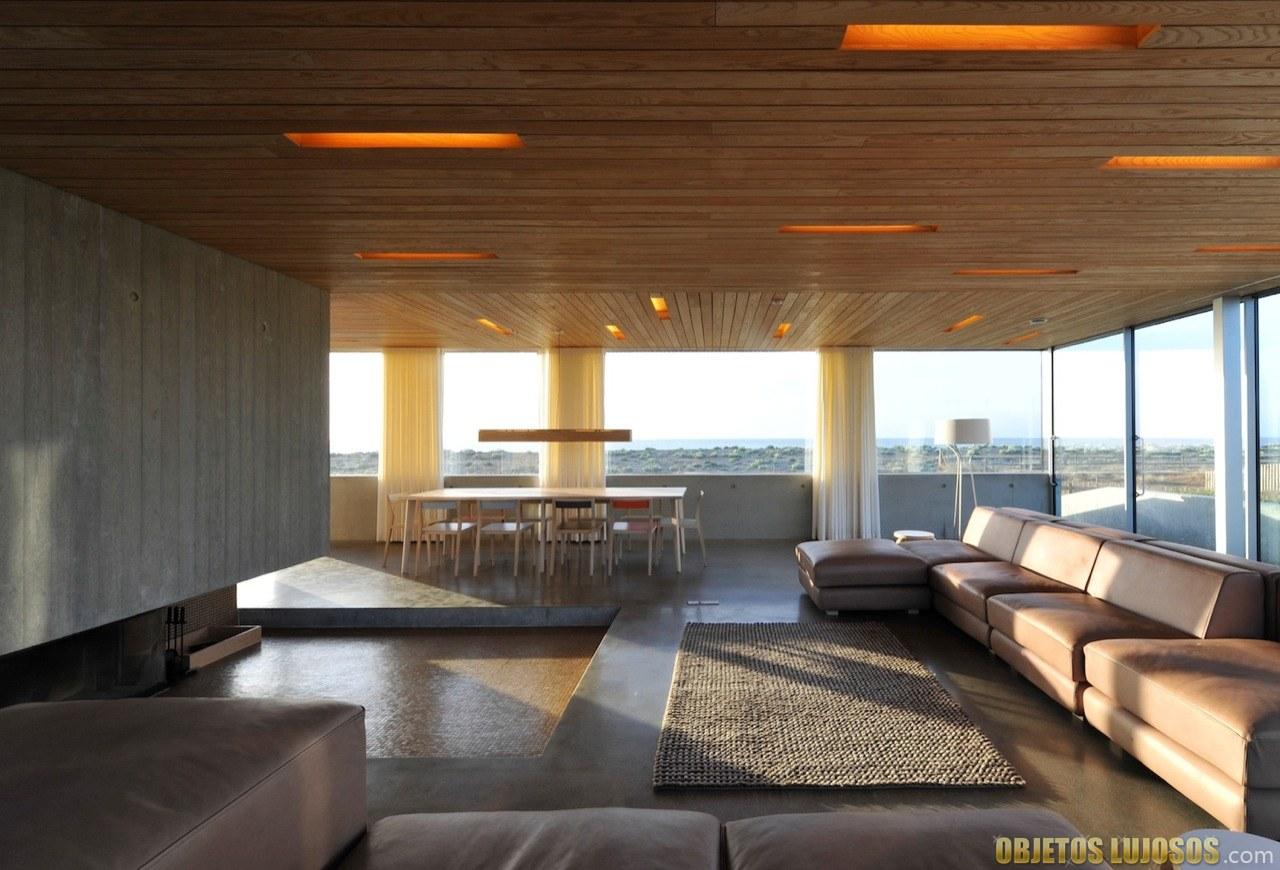 Interior dune house