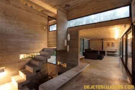 Casa de arquitectura caprichosa - Casas de lujo interiores ...