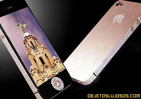 Iphone de diamantes