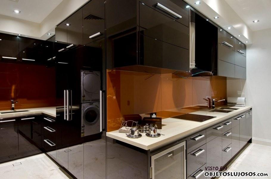 mansión de lujo allegra cocina