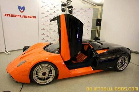 Primer coche de lujo hecho en Rusia