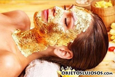 mascarilla reafirmante de oro