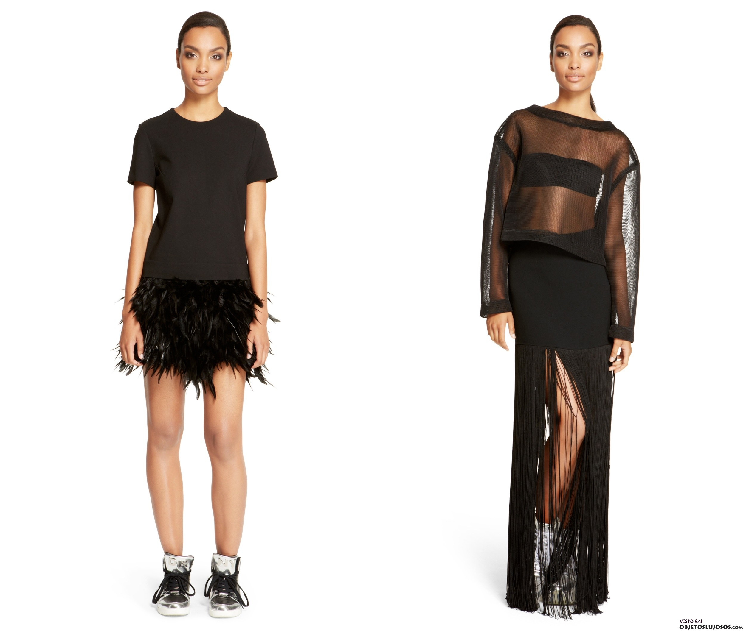 moda fiesta de DKNY