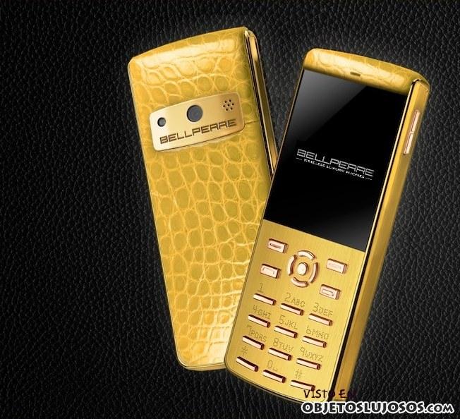 móvil Bellperre en dorado