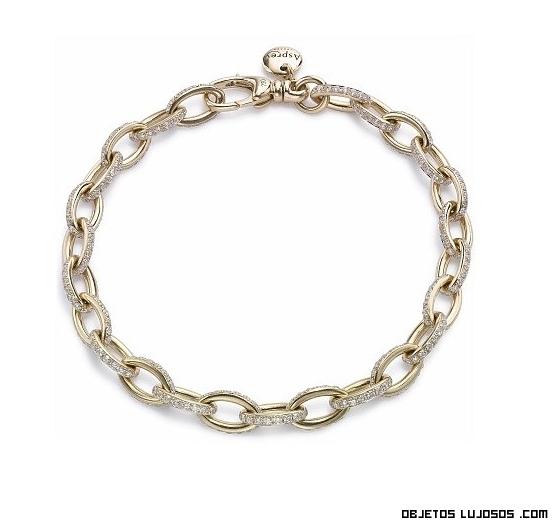 cadenas de oro y diamantes