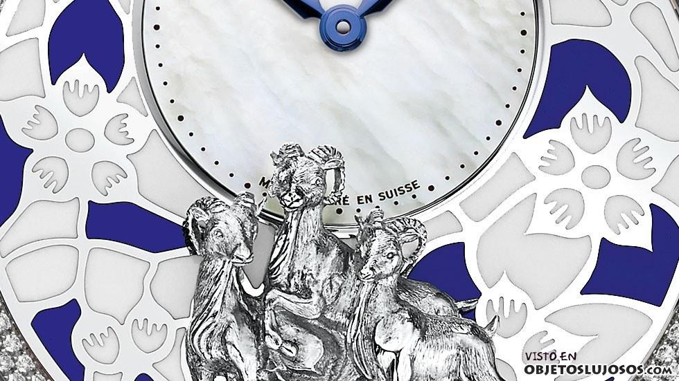 reloj cabra jaquet droz