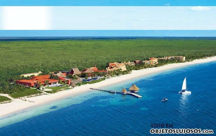 resort paraíso de la bonita en la riviera maya