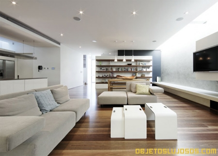Casa moderna lujosa for Sala de estar de mansiones