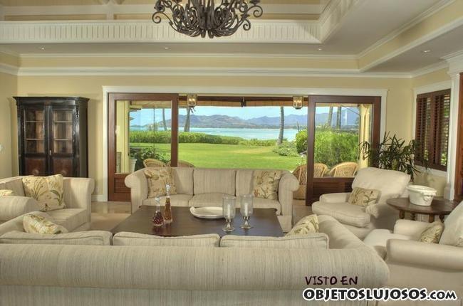 salón casa Obama en Hawai
