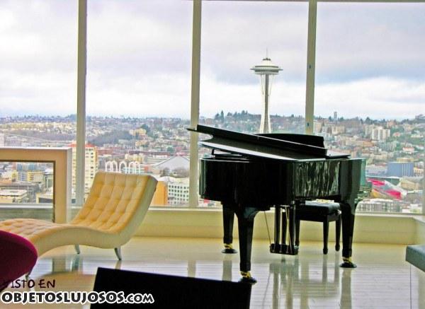 Interior del apartamento de Cincuenta Sombras de Grey