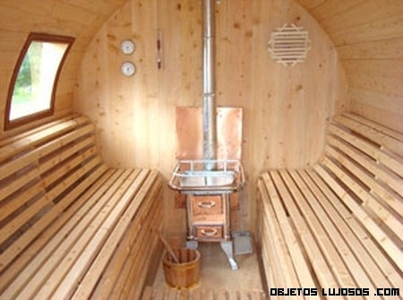 Relájate con estas saunas de lujo