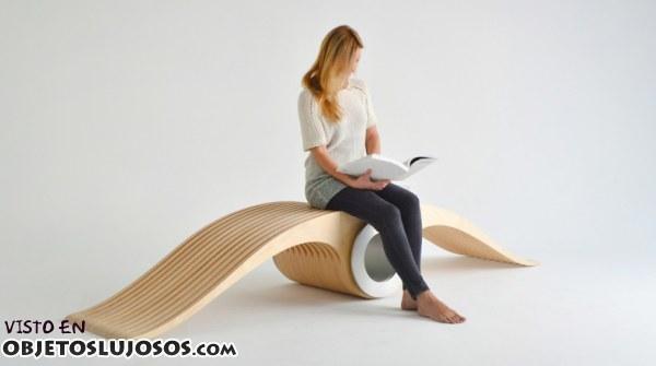 Una silla diferente y muy original