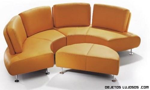 Sof s semicirculares de lujo for Casas de sofas en montigala