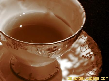 Hora del té y el lujo