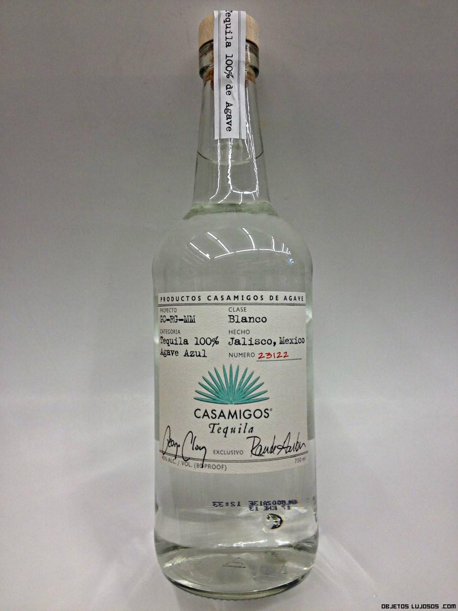 tequila blanco de lujo