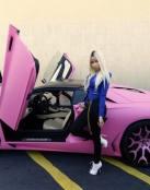 Lamborghini rosa de Nicki Minaj