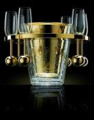 Una manera lujosa de enfriar el champán