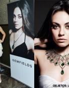 Mila Kunis imagen de la prestigiosa firma Gemfields