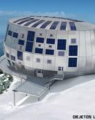 Un hotel a casi 4000 metros de altura