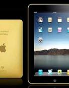 iPad de oro de 24 quilates