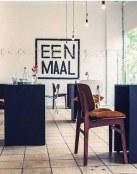El solitario restaurante Eenmaal