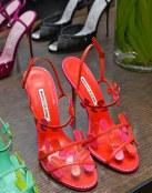 El color naranja en zapatos de Manolo Blahnik