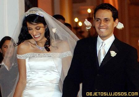 La boda millonaria de Marc Anthony