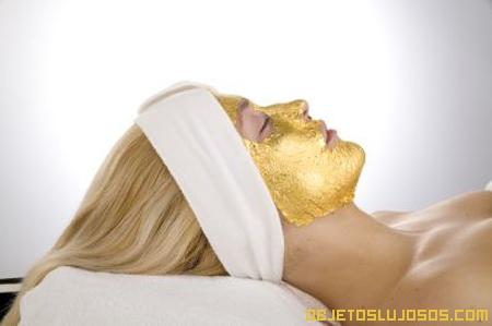 Mascarilla de oro 24 quilates