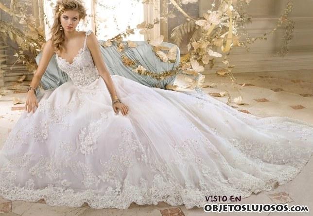 vestido barroco amalia carrara