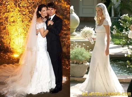 de novia lujosos de las famosas