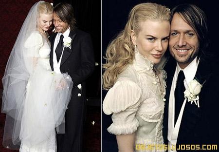 Boda de lujo de Nicole Kidman y Keith Urban