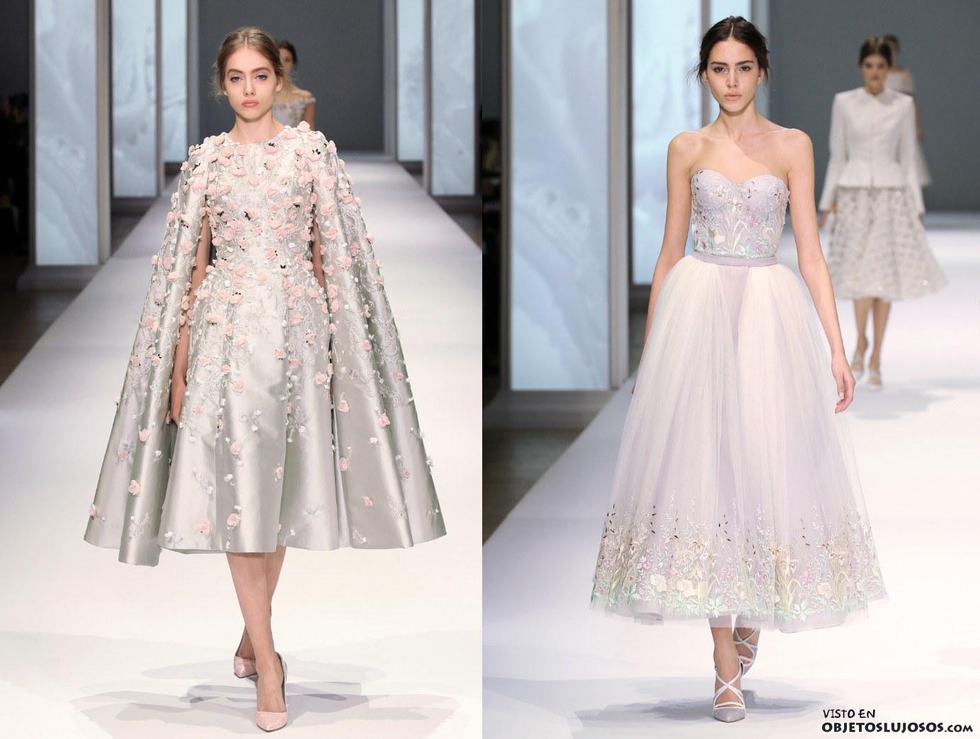 vestidos colección primavera ralph & russo