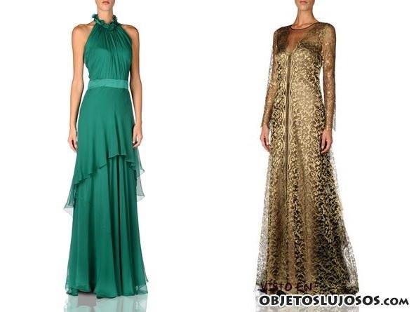 vestidos largos Alberta Ferretti