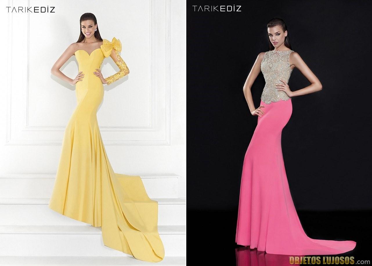vestidos largos elegantes de tarik ediz