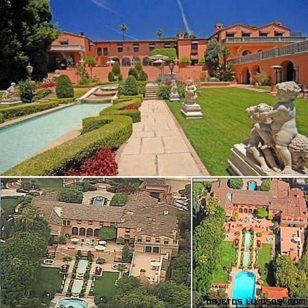 Famosa mansión Hearst en Beverly Hills