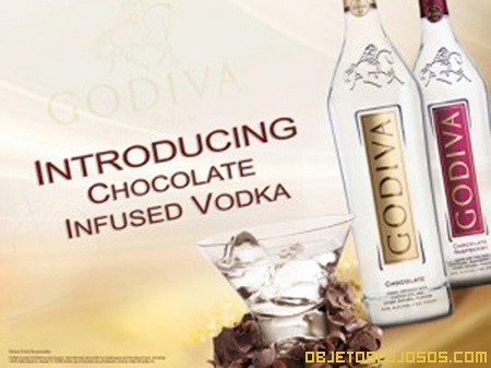 Vodka con sabor a chocolate