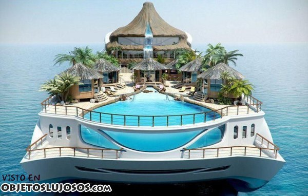 Yate Isla Tropical Paraíso