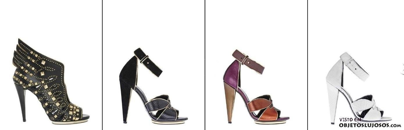 zapatos de tacón cavalli